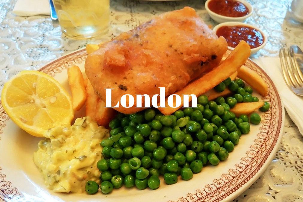 Beitrag zu London unterwegs vegan