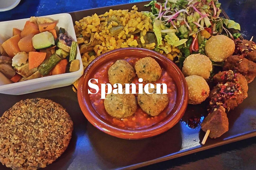 Beitrag zu Spanien unterwegs vegan