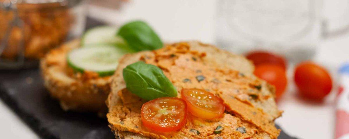 vegane Tomatenbutter, einfach