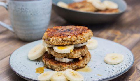 vegane Bananentaler