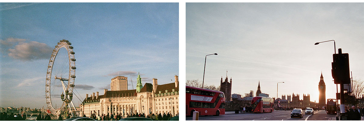 Mangold & Muskat in London Big Ben London Eye