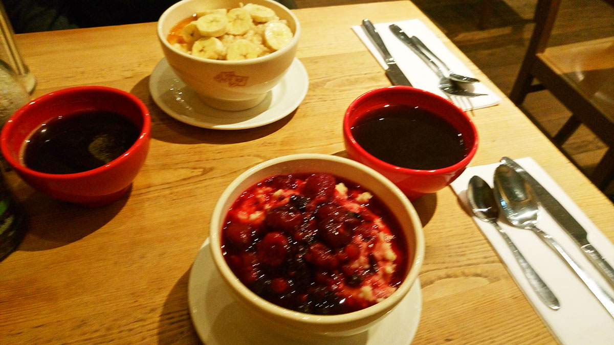 veganer Porridge London