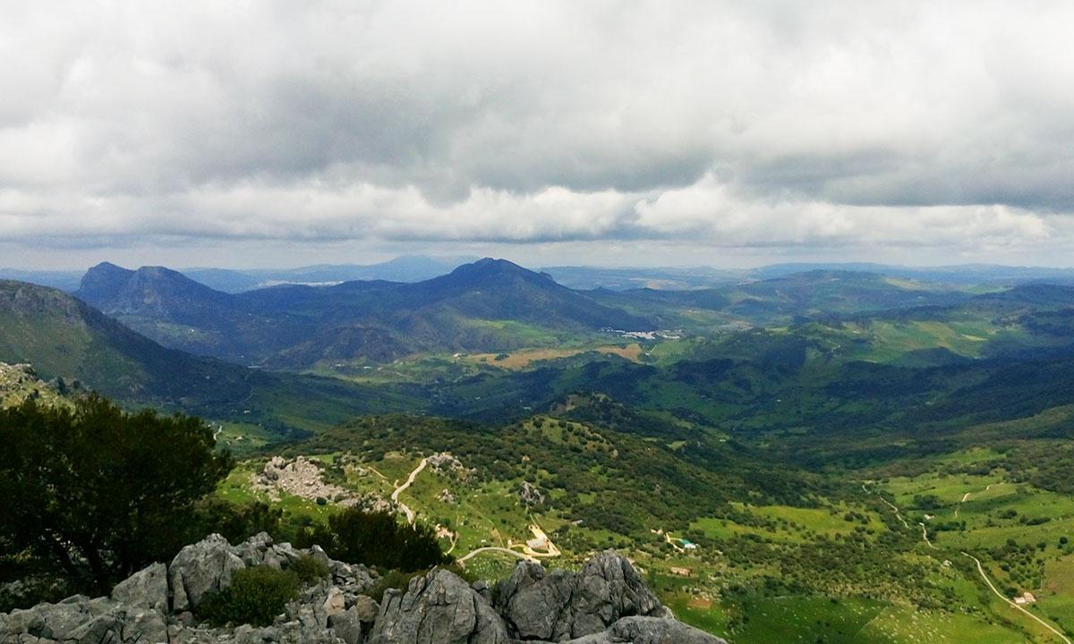 Grazalema in Spanien