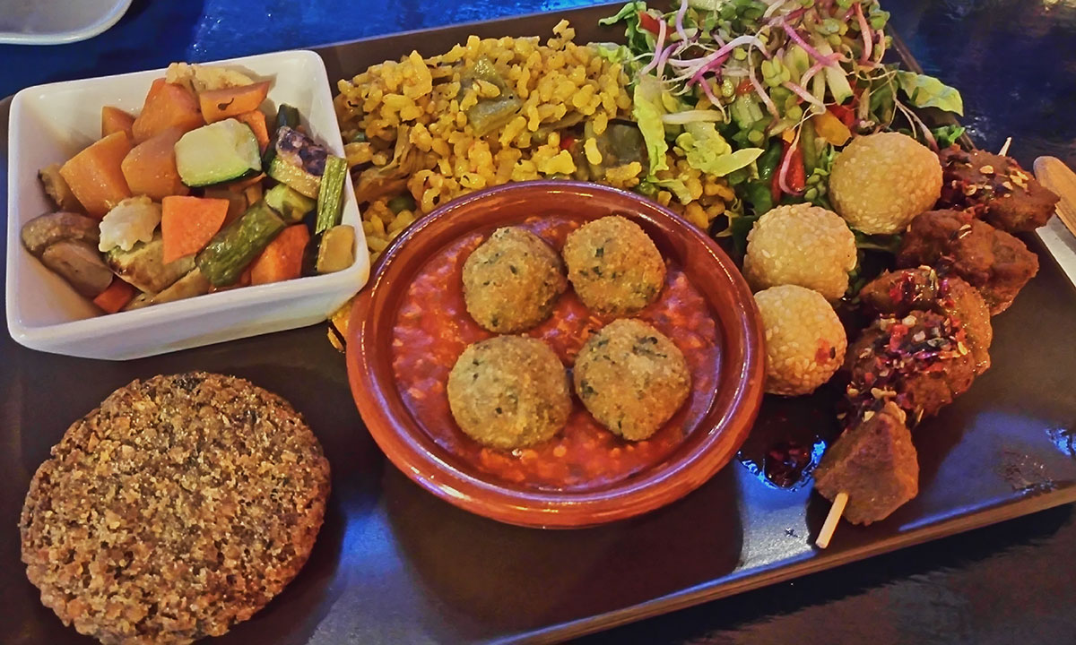 vegetarische hauptgerichte reis