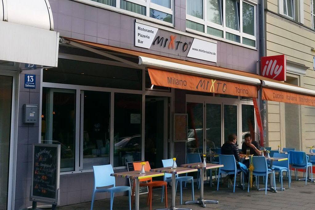 Pizzeria Mixto München von außen