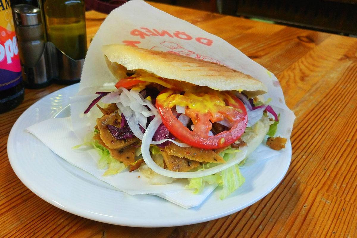 veganer Döner Kebab München