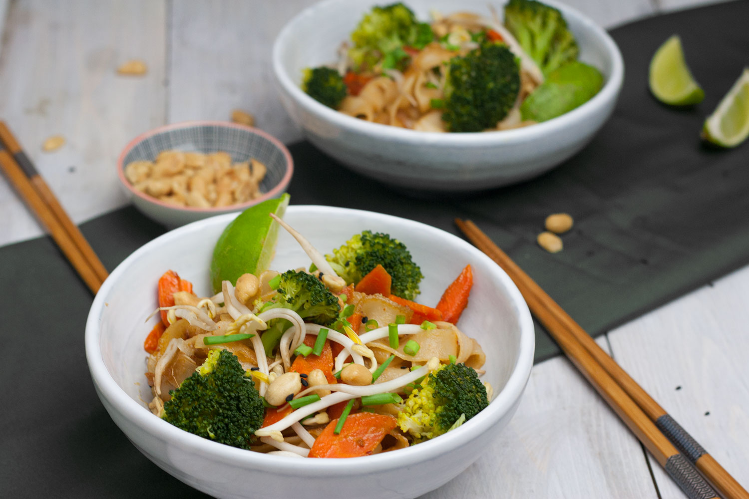 vegane Pad Thai Variation