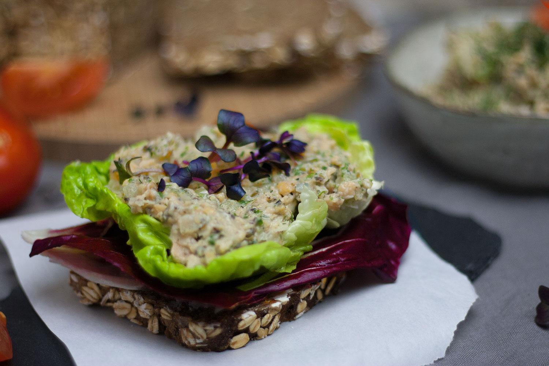 veganer Tunasalat Thunfisch