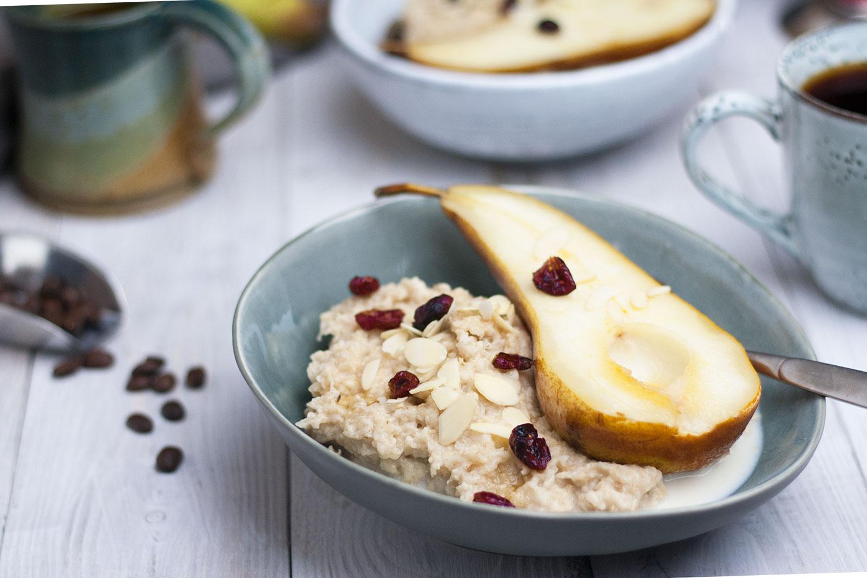 vegan Frühstücken mit Porridge