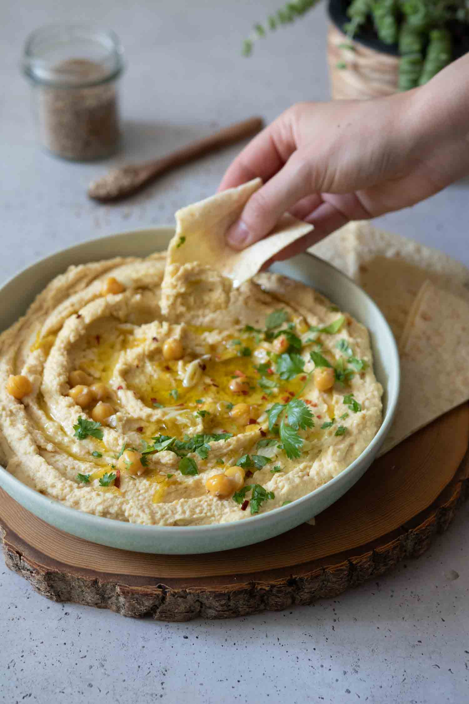 Himmlisch leckerer Hummus