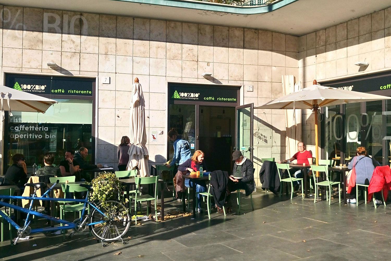 vegan Essen in Rom im 100% Bio, von außen