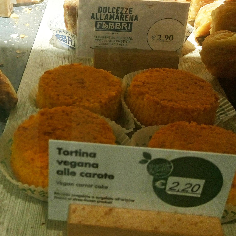 vegan essen in Rom aus dem Supermarkt und vom Imbiss