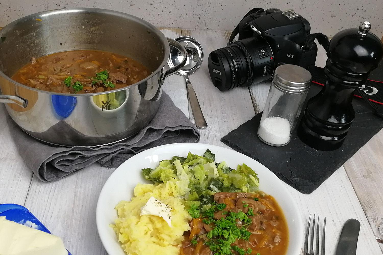 mit einem Food Blogger zusammen sein, heißt es wird viel fotografiert