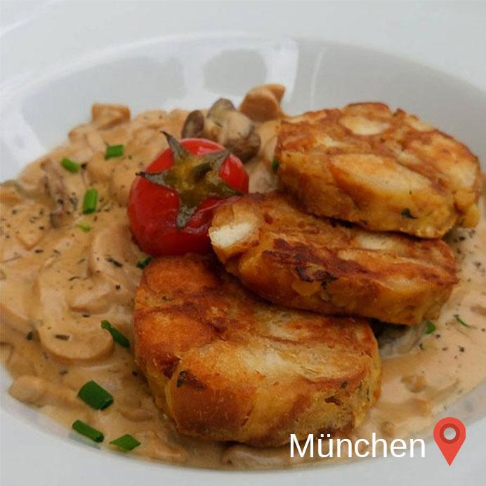 mit einem Food Blogger zusammen sein, heißt unterwegs lecker, aber es müssen immer Fotos gemacht werden. Hier in München im Bodhi.