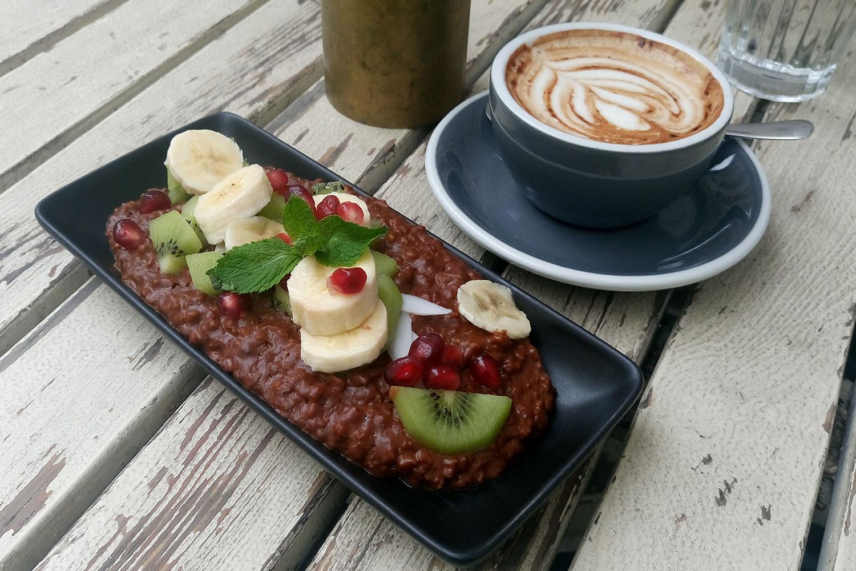 vegan essen in Wien Porridge im Erich