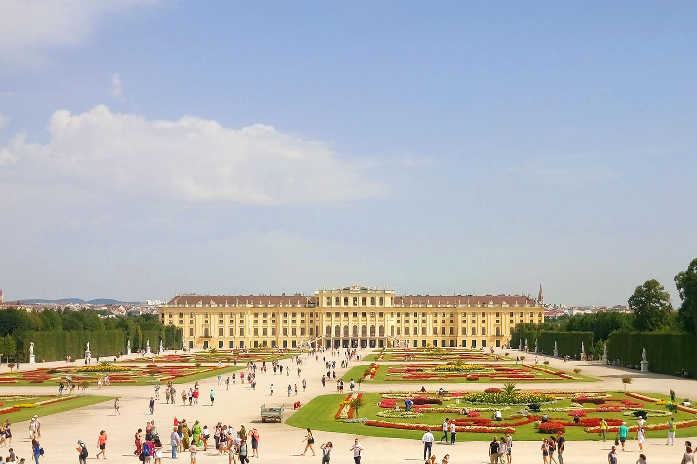 vegan essen in Wien Besichtigung Schönbrunn
