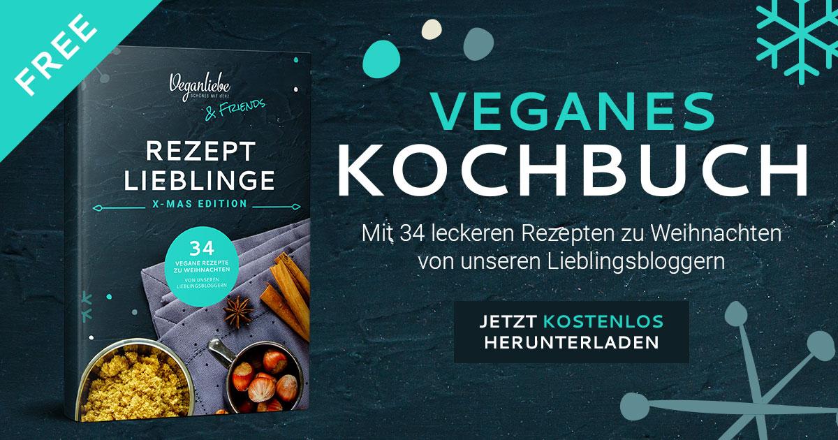veganes Weihnachtskochbuch in dem das Maronen-Pilz-Ragout erschienen ist