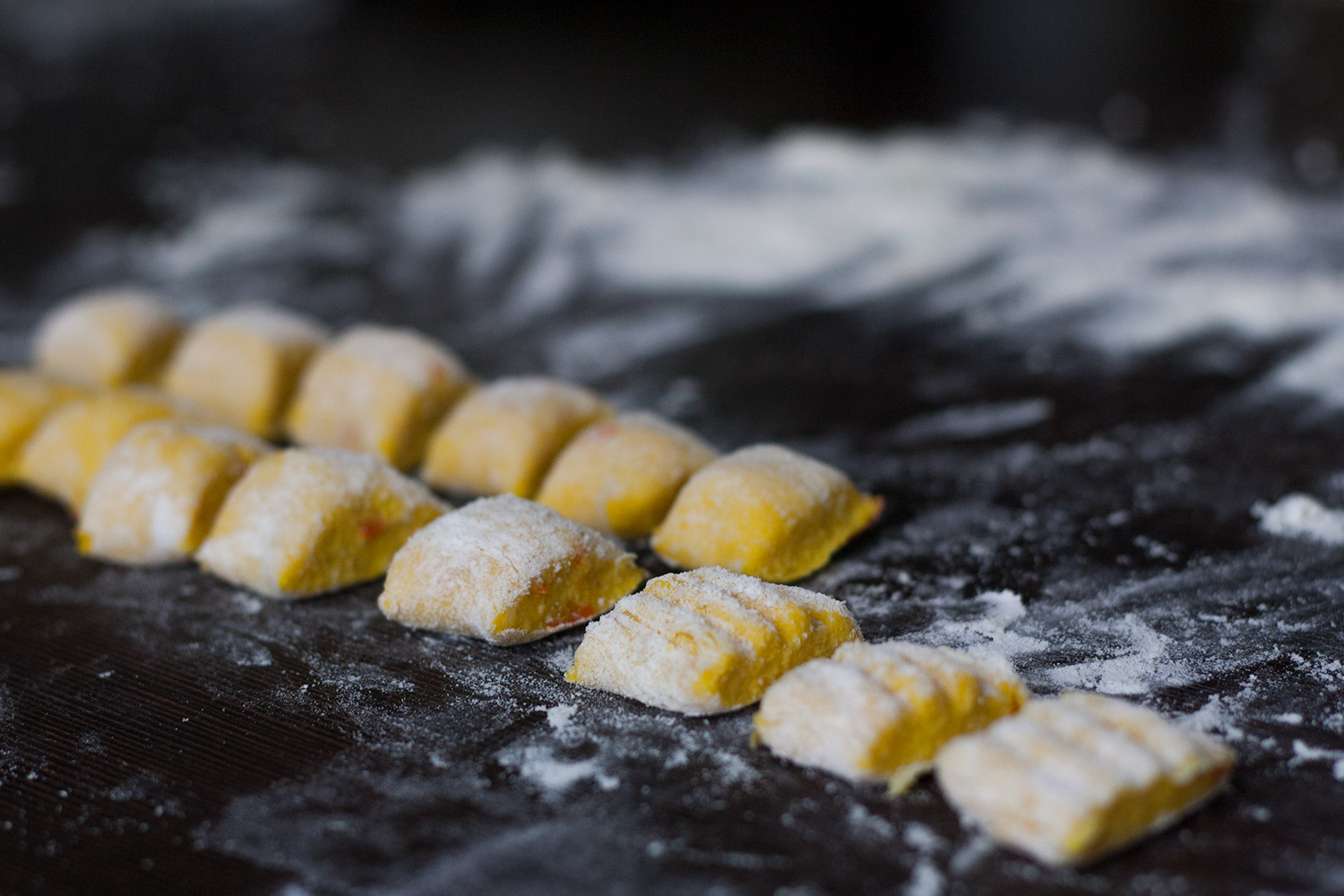 Recipe for easy vegan pumpkin gnocchi | Kürbisgnocchi