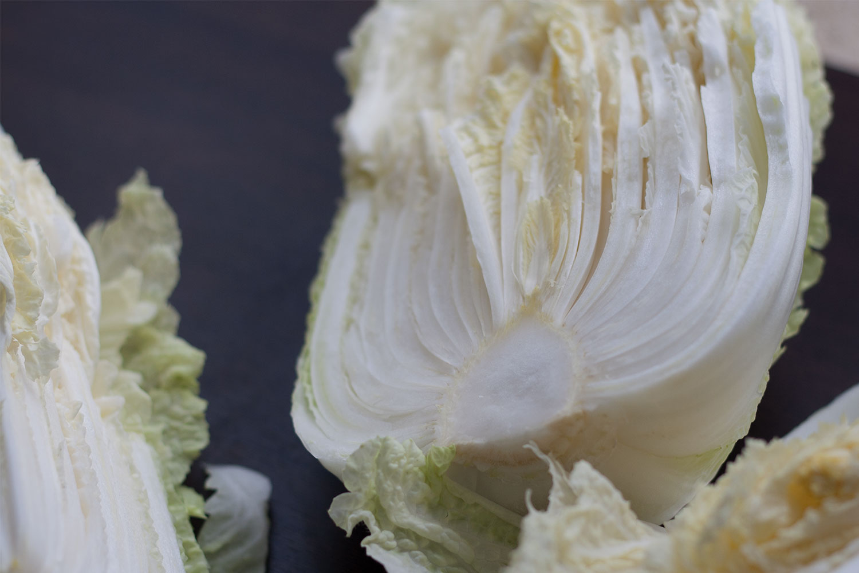 Napa cabbage for Kimchi | Chinakohl für Kimchi