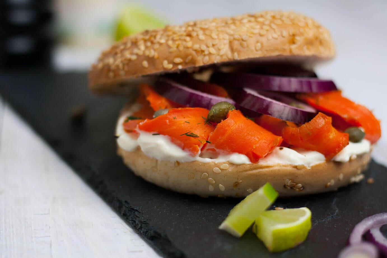 veganer Carrot Lox oder Karottenlachs
