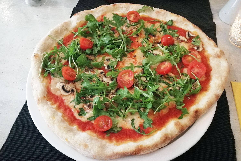 das italientische Restaurant Mixto Cucina in München, das vegane Gerichte anbietet