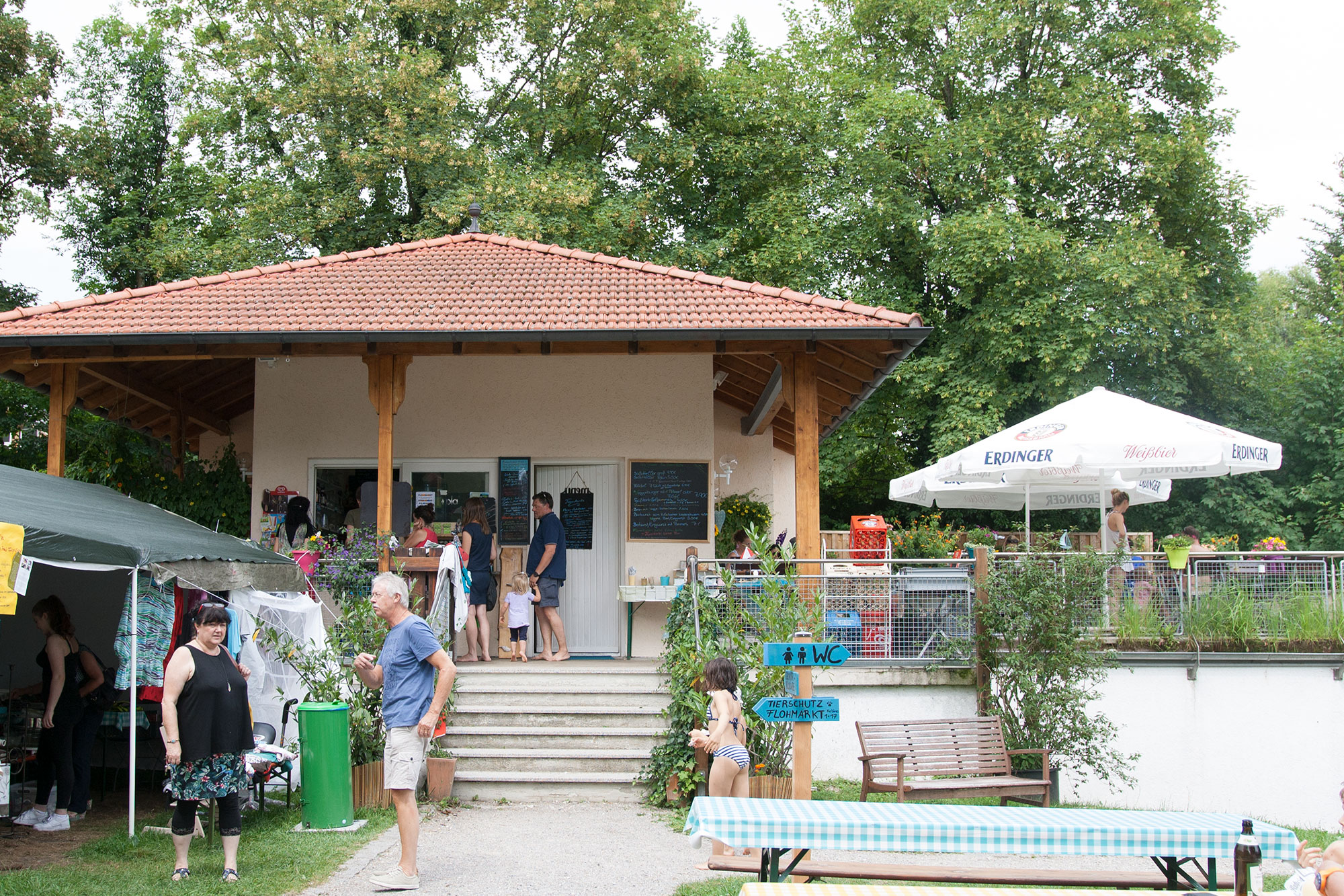 vegan Essen im Strandbad Pilsensee bei München