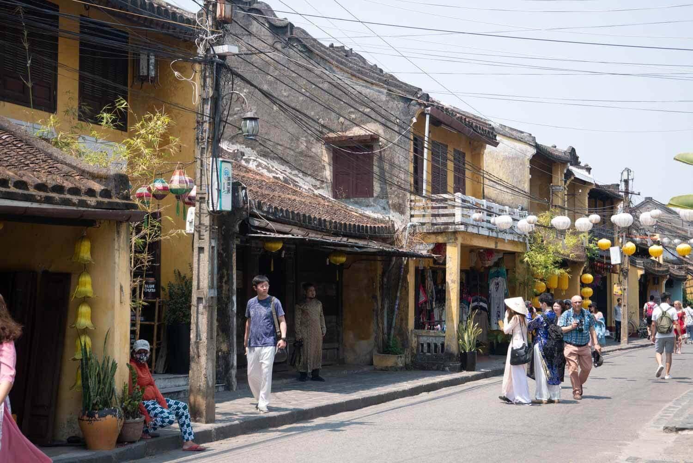 Straße in Vietnam