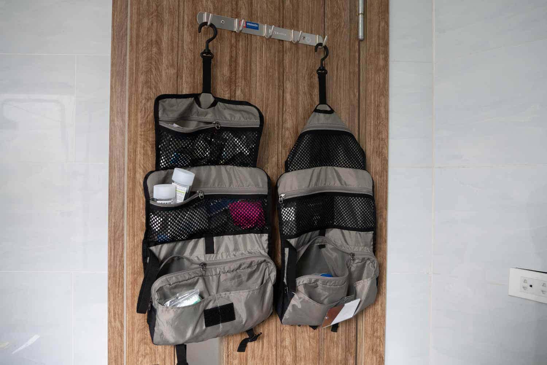 Waschbeutel zum Aufhängen