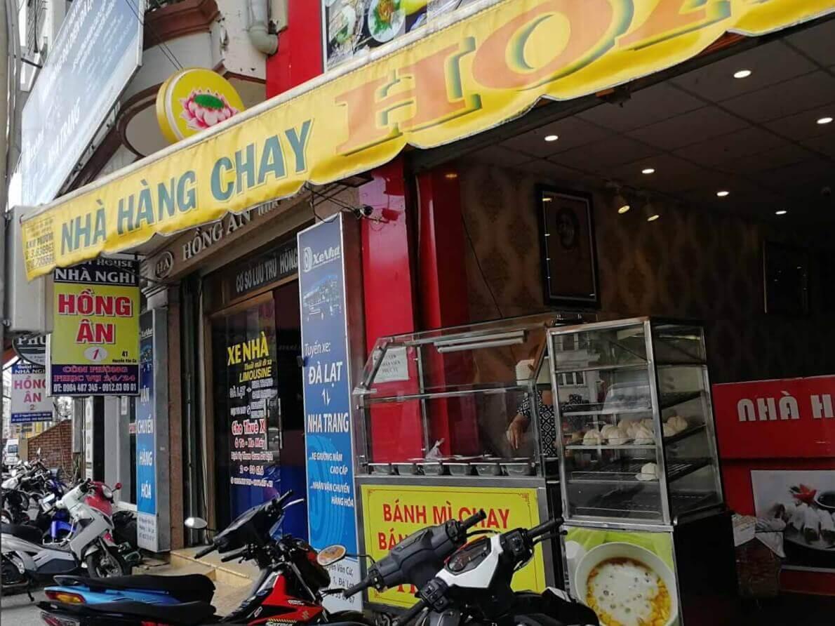 vietnamesisches Restaurant mit Chay im Namen
