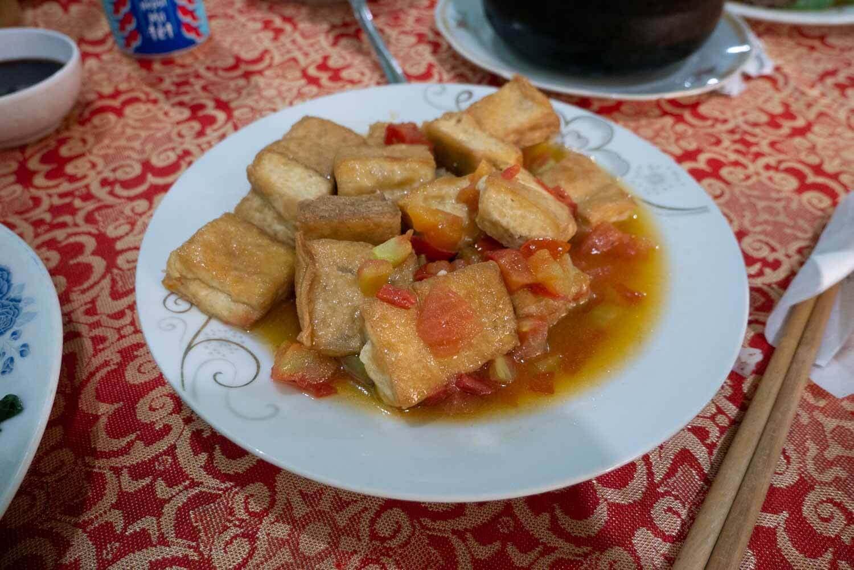Tofu in Tomatensoße