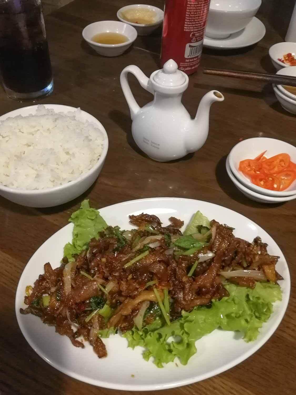 vegane essen bei Saigon Vegan in Ho-Chi-Minh-Stadt in Vietnam
