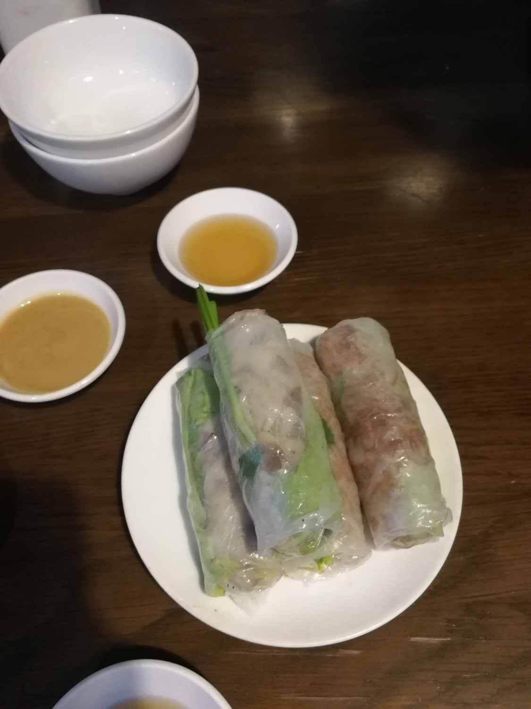 Vegane Sommerrollen Vietnam
