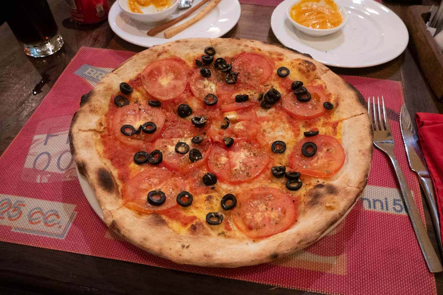 vegane Pizza in Vietnam