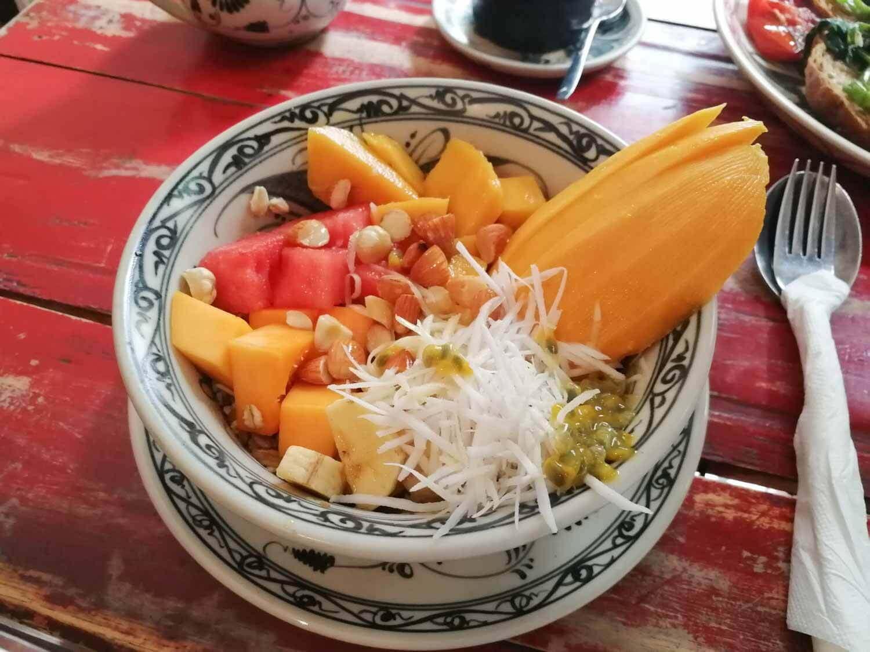 veganes Birchermüsli Hanoi Social Club