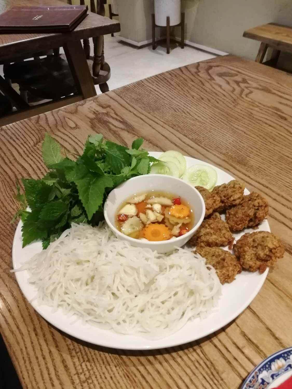 vegane Bun Chay in Hanoi