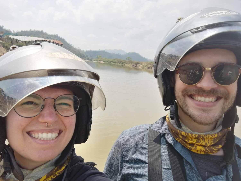 Spaß beim Motorradfahren in Vietnam