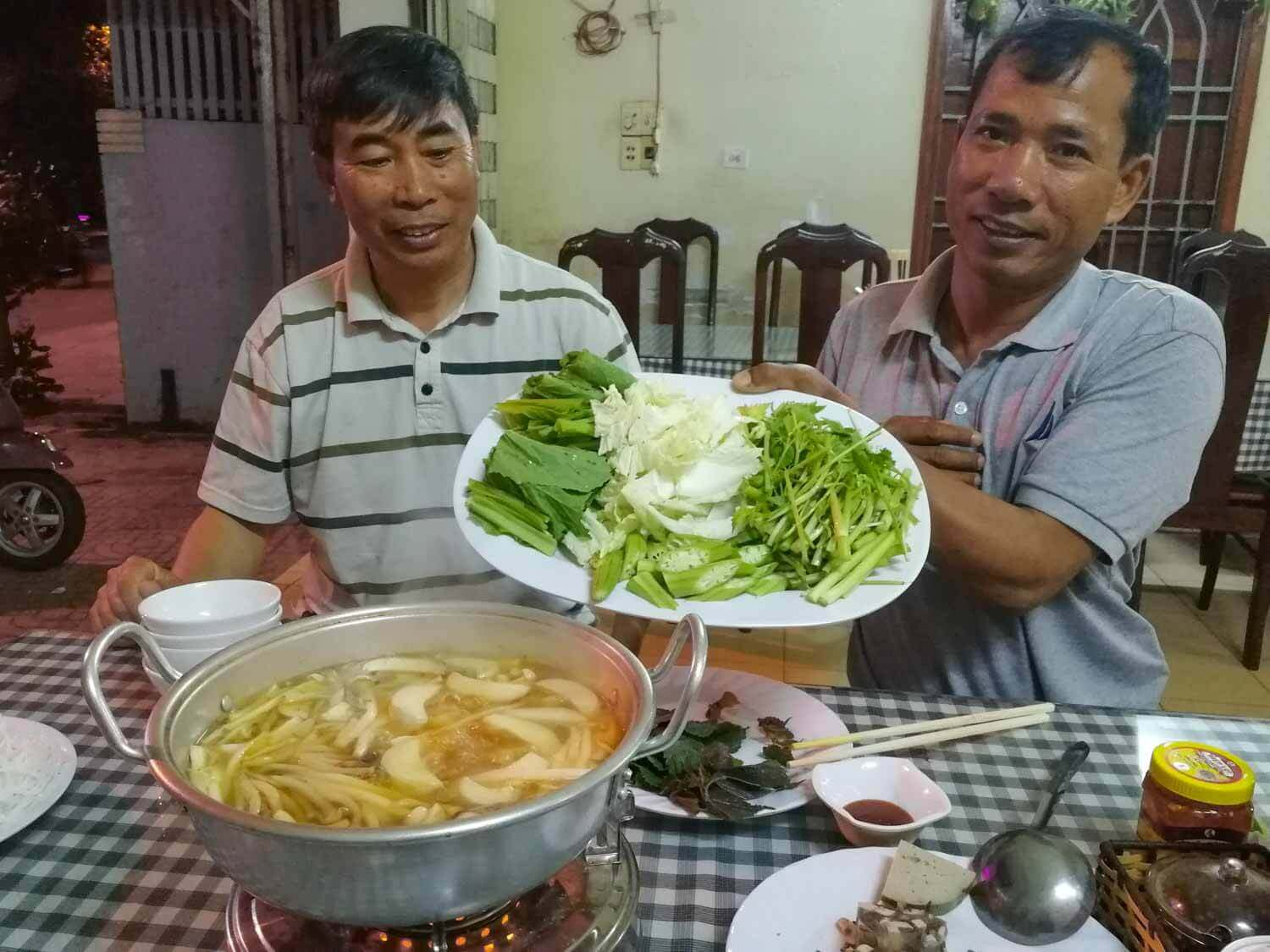 veganer Hot Pot in Vietnam