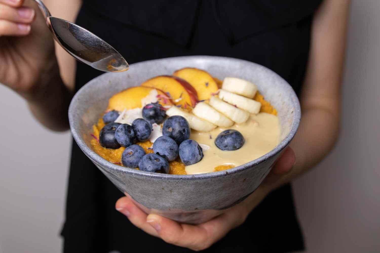 Basisches Süßkartoffel-Frühstück