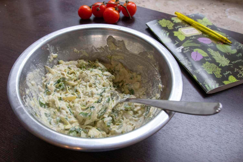 Zucchini-Cashew-Füllung
