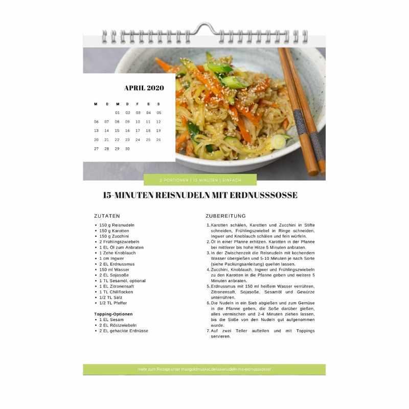 Rezept vom Rezept-Kalender