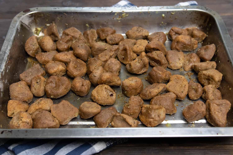 Seitan aus dem Ofen