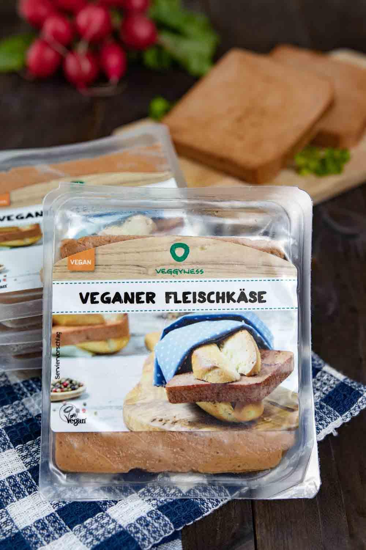 Veganer Fleischkäse von Veggyness
