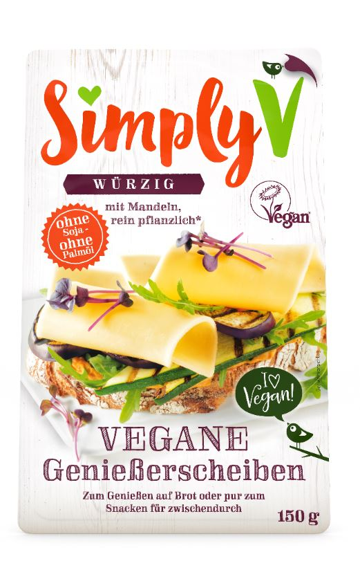 Simply V veganer Scheibenkäse