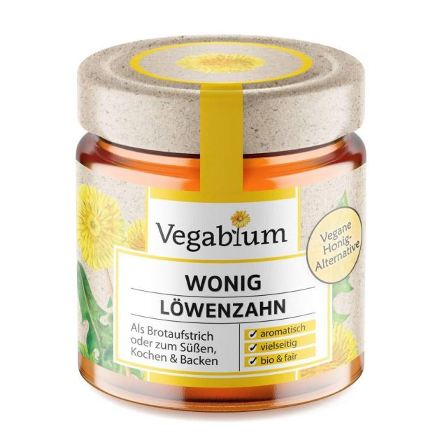 Ersatzprodukt für Honig: Wonig von Vegablum