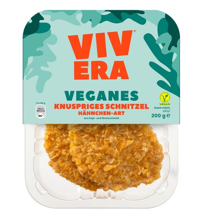 Veganes Knusperschnitzel von Vivera - Ersatzprodukt für Fleisch
