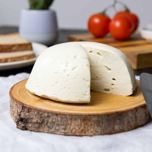 Veganer Cashew-Käse zum Überbacken