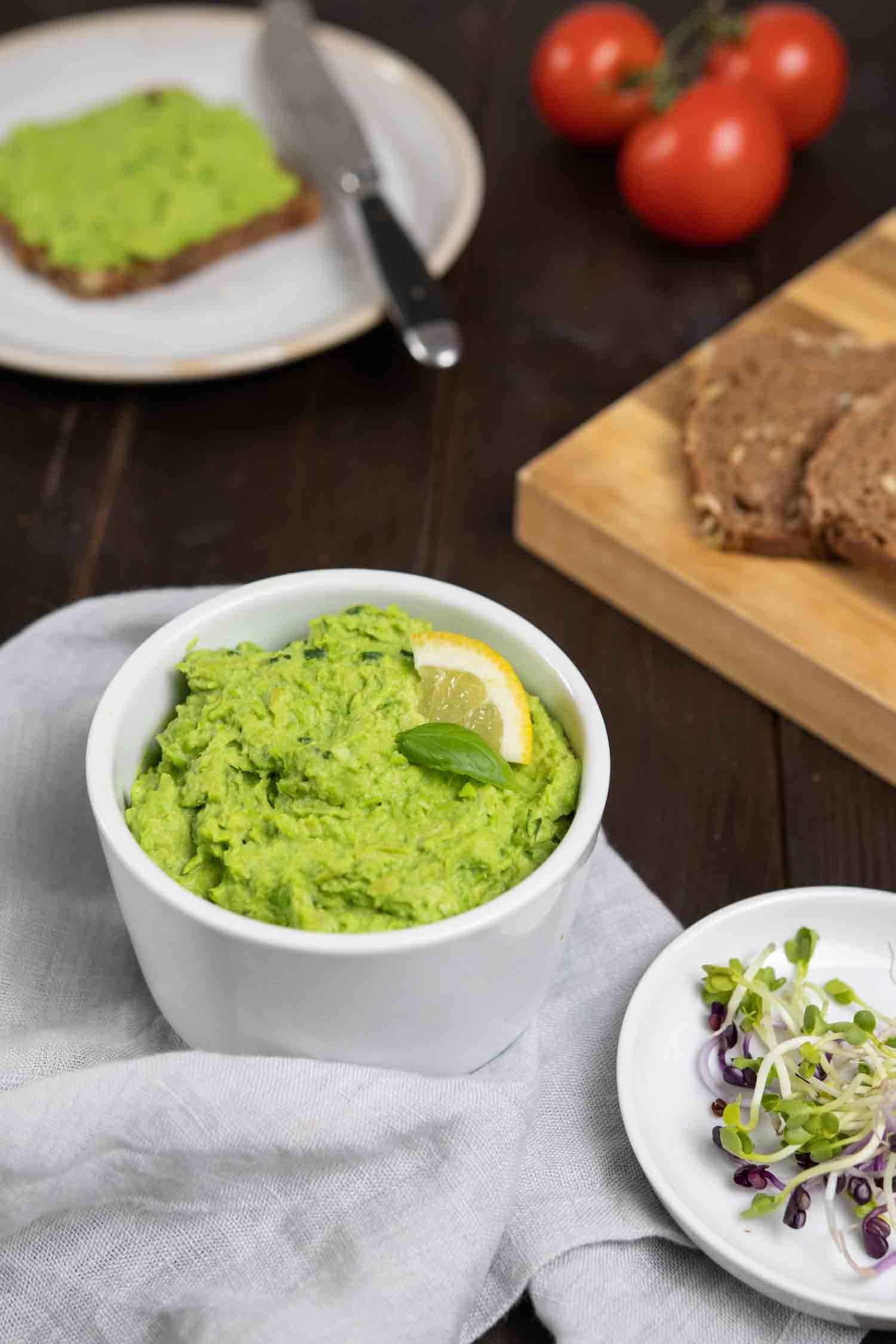 Herbsen-Hummus