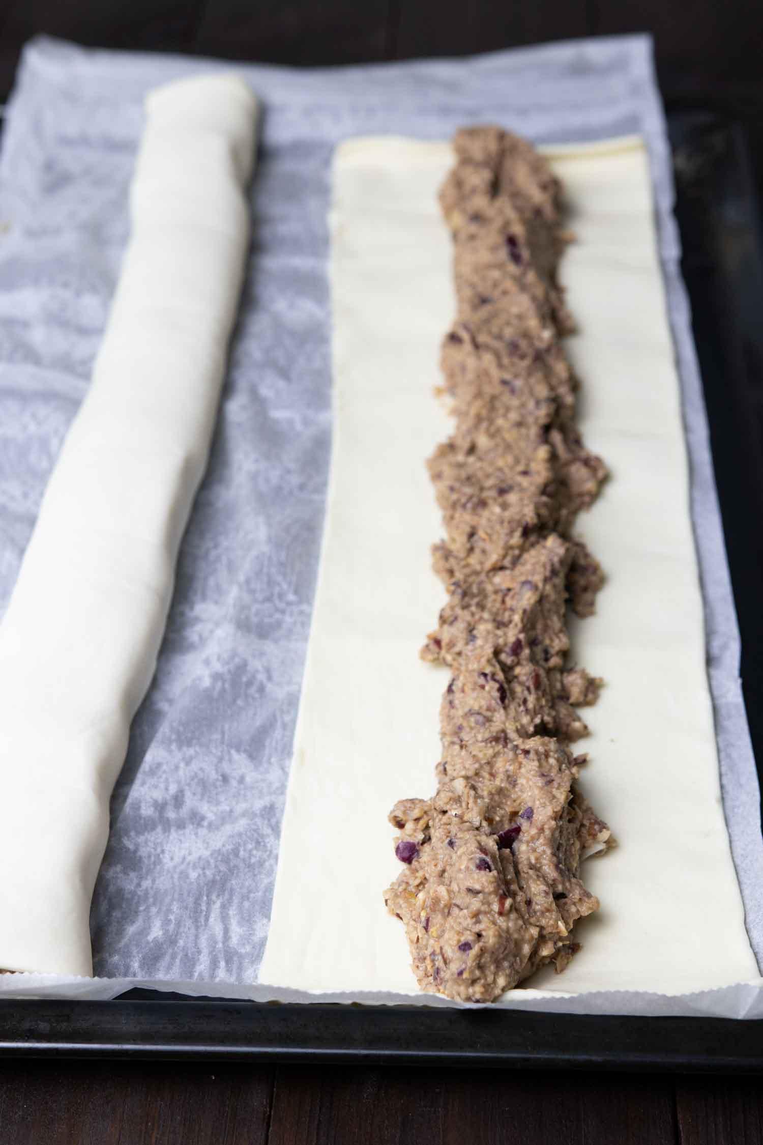 vegane Sausage Roll